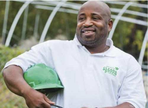 Lionel Terrell credits the Clean & Green program for helping him turn his life around, now heads the program.