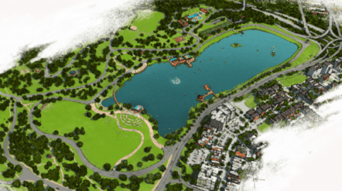 Rendering via Friends of Druid Hill Park
