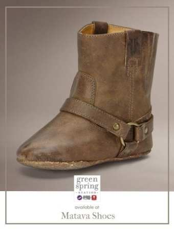 Small @Frye Harness Bootie, available at Matava Shoes #FryeBoots #Boots #Fall #GreenSpringStyle