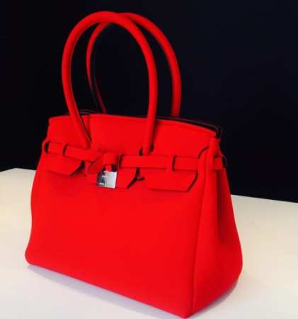 Save My Bag - Neoprene Bag in Flame Red $110 (available in 7 hot colors...while supplies last) - Girl Next Door