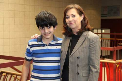 Gilman sixth grader Vasili A. successfully nominated his fifth grade teacher Lisa Teeling for The Johns Hopkins University Center for Talented Youth's Sarah D. Barder Fellowship Program.