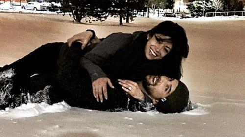 Michael Phelps enjoyed the snow.