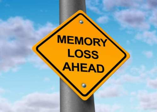 memory loss ahead