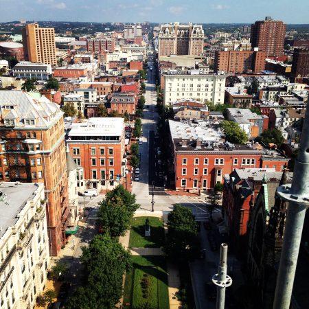 Mt. Vernon view of Baltimore