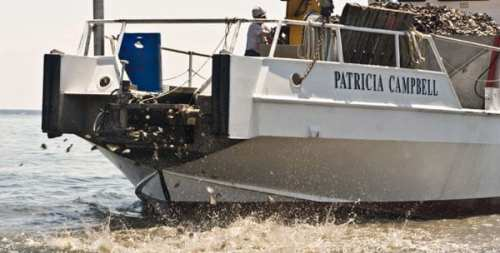 Patricia Campbell oyster restoration boat (CBF)