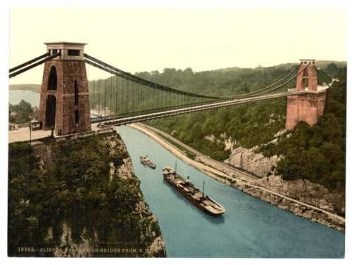 Clifton_suspension_bridge_from_the_north_east_cliffs,_Bristol,_England-LCCN2002696421