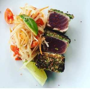 Seared tuna is one of many dishes that will pop up on The Corner Pantry's newly expanded dinner menu