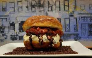 Doughnut and ice cream goodness from The Charmery and Center Cut Doughnuts (photo courtesy of The Charmery)