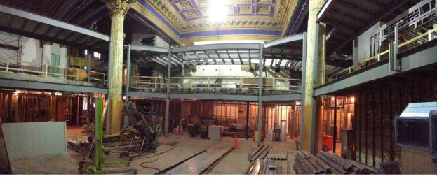 Chesapeake Shakespeare Theater Under Construction