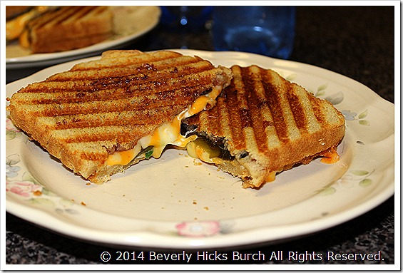 Jalapeno Pepper Panini with Cherry Berry Sauce