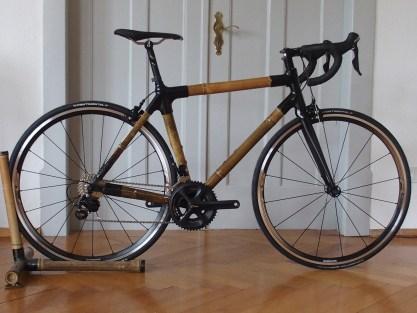 Rennrad aus Bambus