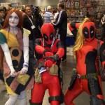 Sally Nightmare Before Christmas and Deadpool Cosplay - WonderCon 2012