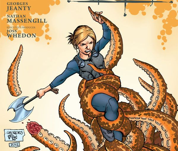 Review – Buffy The Vampire Slayer Season 9 #12 – Guarded Part 2