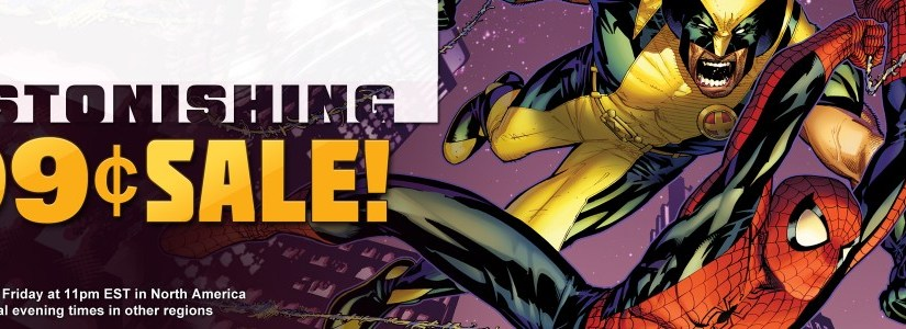 Marvel Friday Sale – Astonishing series books for 99 cents!