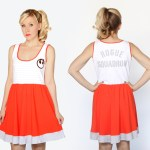"Perfect for spring and summer, this A-line Rogue Squadron dress features the Rebel Alliance symbol on the front and the title ""Rogue Squadron"" on the back!"