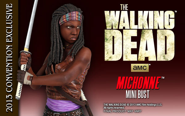 """Gentle Giant """"The Walking Dead"""" Bundle Special Exclusive's for Comic Con 2013!"""