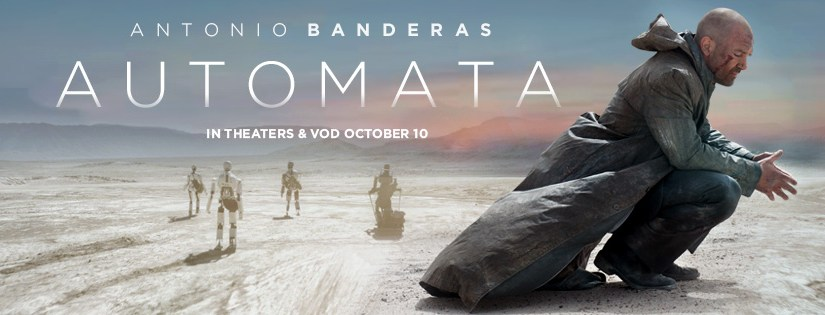 AUTOMATA coming to theaters and OnDemand next week