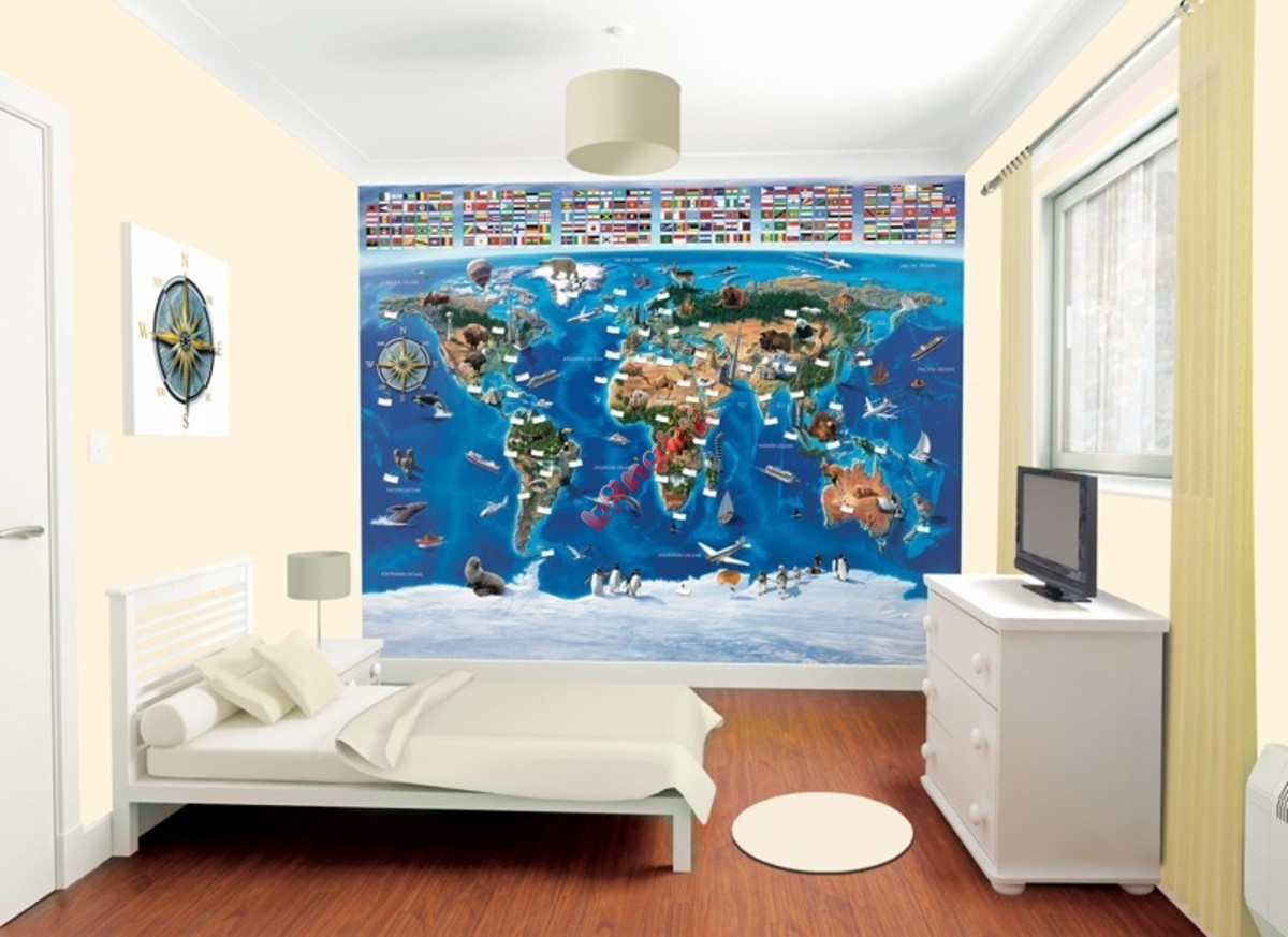 Fullsize Of 3d Wall Murals