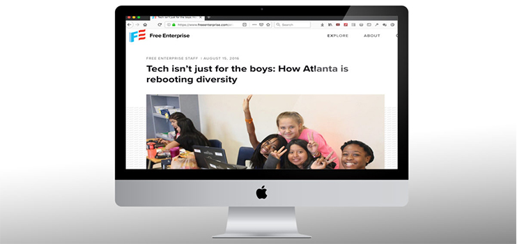 Tech isn't just for the boys: How Atlanta is rebooting diversity