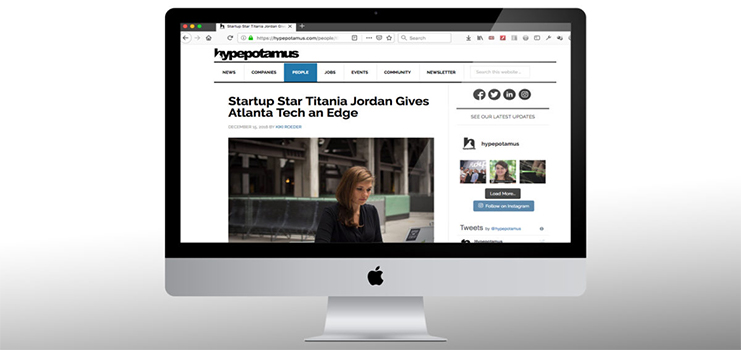 Startup Star Titania Jordan Gives Atlanta Tech an Edge