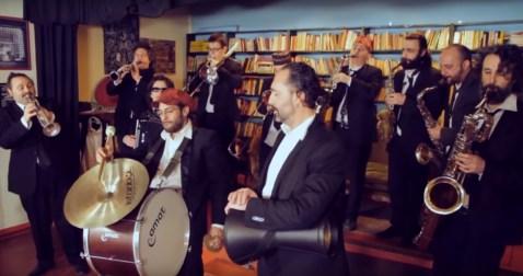 Anatra Zoppa - riprese video 'La Banda'