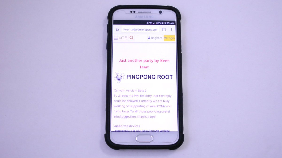 How to root the Galaxy S6