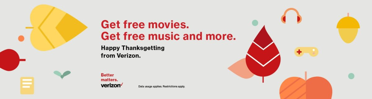 Verizon offering free movies, music, and more on Amazon