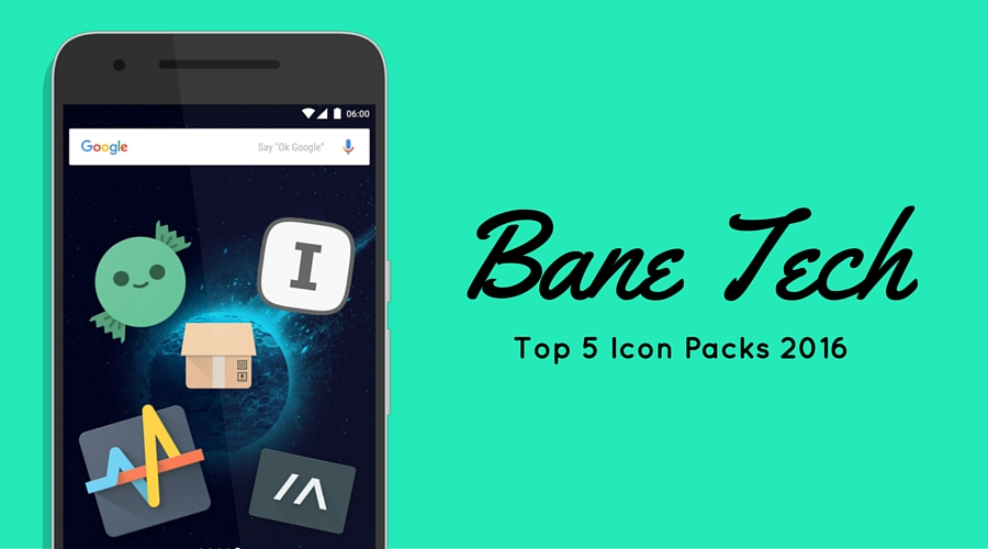 Top 5 Icon Packs: February 2016