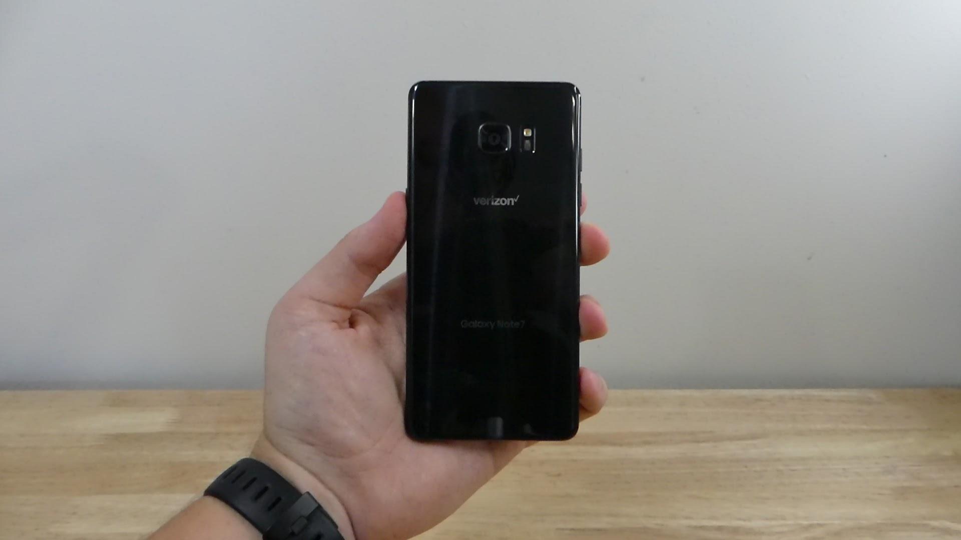 Verizon Note 7 recall