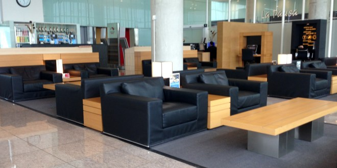 Lounge review: Iberia domestic lounge: Barcelona El Prat airport
