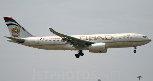 Etihad Airbus A330-200. Image copyright Vedant Agarwal. All rights reserved. Used with permission.