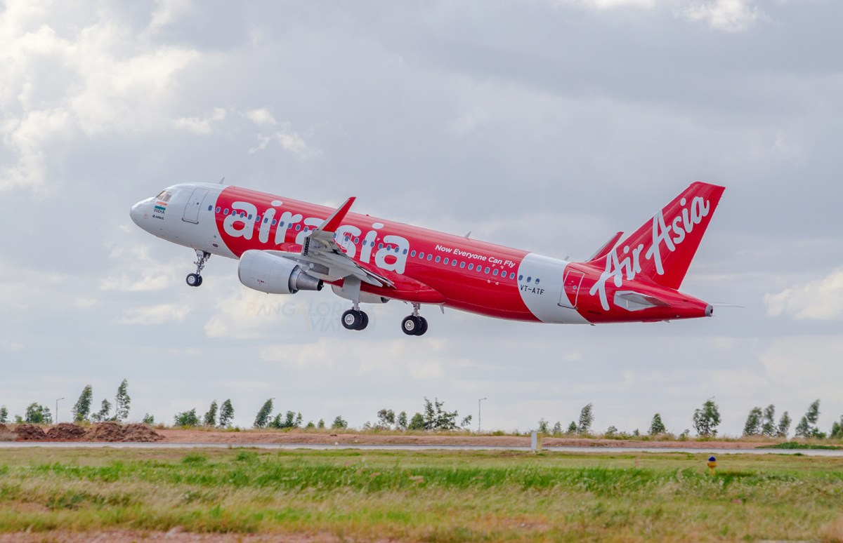Air Asia India's New Delhi flights to Bangalore, Goa and Guwahati
