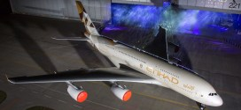 Etihad unveils new livery 'Facets of Abu Dhabi' on its first Airbus A380