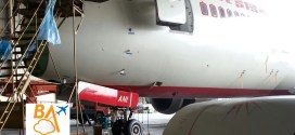 Exclusive photos: Air India Boeing 787-8 Dreamliner VT-ANI being retro-fitted for reliabilty