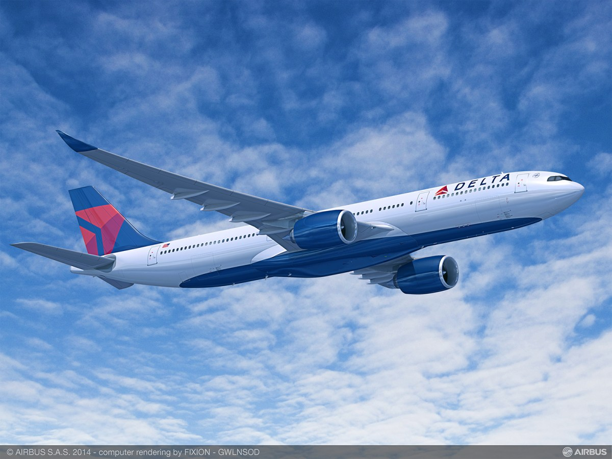 Delta orders 50 Airbus A350-900's and A330neo's