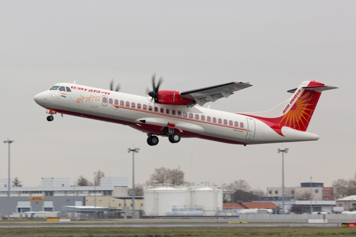 Air India Regional inducts first ATR72-600 into fleet