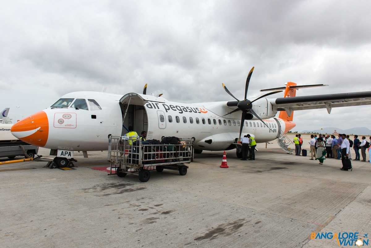 Inflight Review: Air Pegasus ATR 72: Bangalore-Madurai-Bangalore