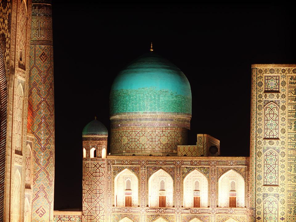 Course contre la montre en Ouzbekistan
