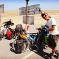 Le cycliste japonais aux 100000km