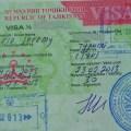 Visa Tadjikistan