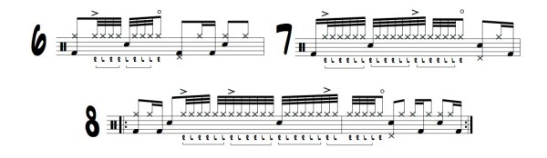 15 paradiddle diddle grooves image for blog