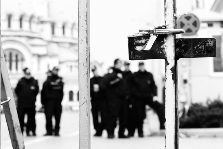 """""""Свободата изпъква най-силно, когато се опиташ да я оковеш"""" Снимка: Гергана Динева"""