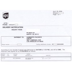 Small Crop Of Ups Delivered To Wrong Address