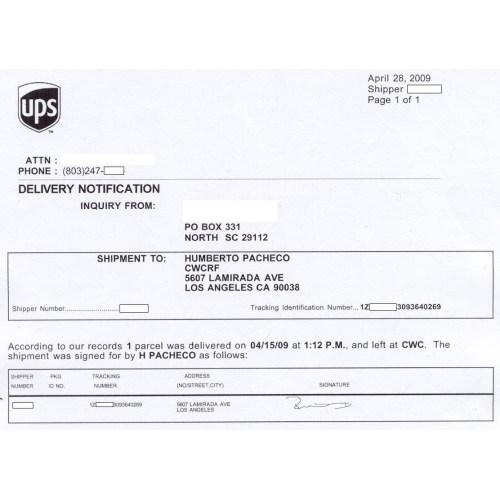 Medium Crop Of Ups Delivered To Wrong Address