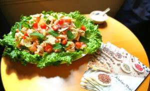 Atelier Thai - Salade de saumon thaïe (compressée)