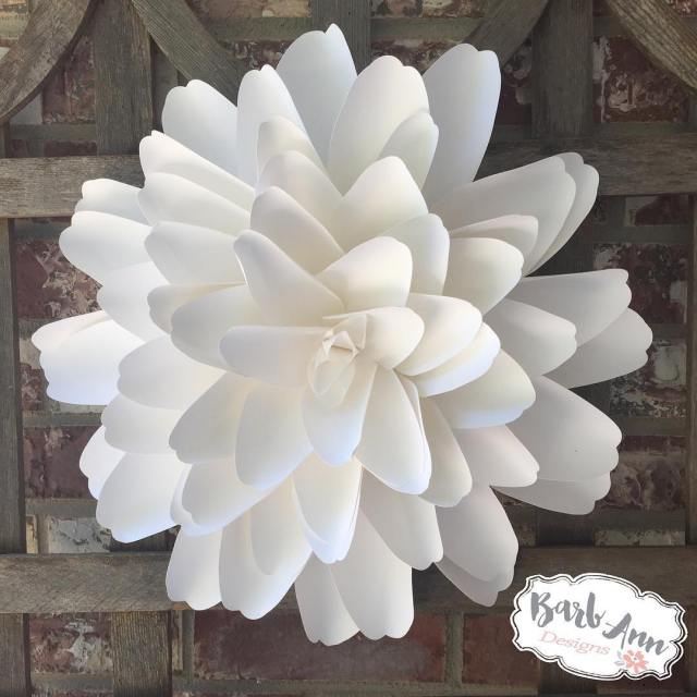 Simple Clean White itsalwaysagoodidea paperflowers giantpaperflower paperflowerbackdrop weddingbackdrop nurserydecor twitterhellip