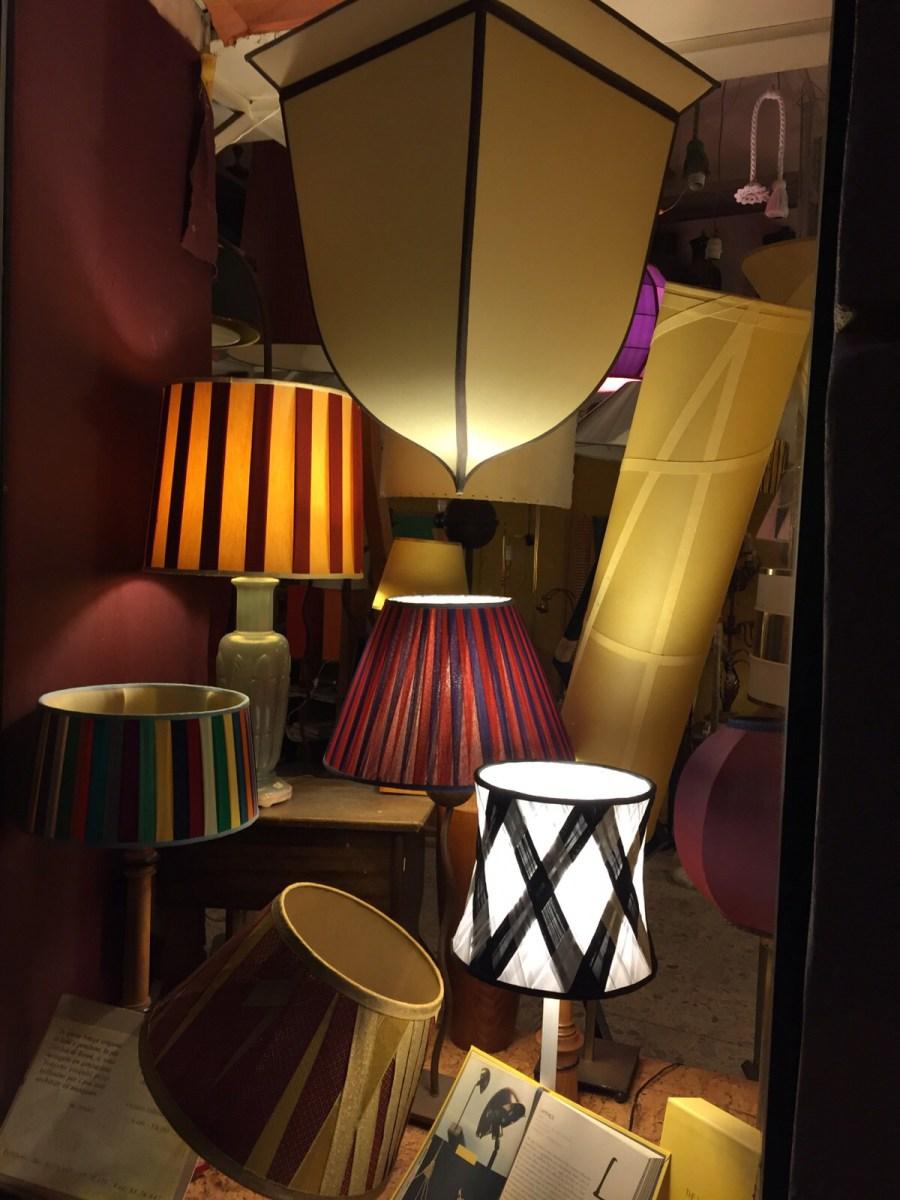 Designer lampshades handmade in Rome