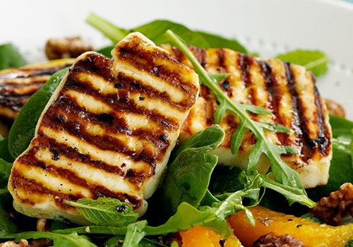 How to Grill Halloumi