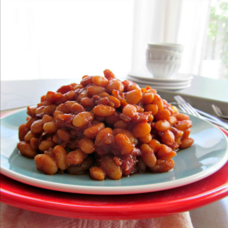 BBQ Bacon Beans | Bar-Be-Quick