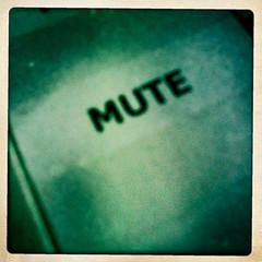 mute button by woodleywonderworks on Flickr